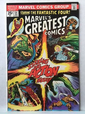Marvel's Greatest Comics # 54 VF+ Fantastic Four # 71 Free Postage