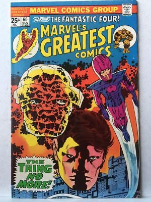Marvel's Greatest Comics # 60 VF- Fantastic Four # 78 Free Postage