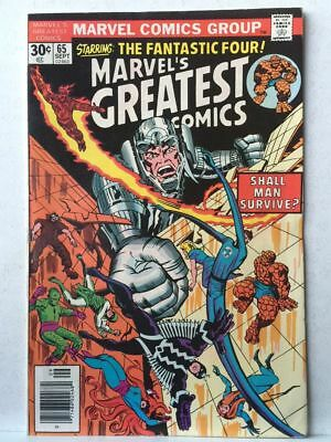 Marvel's Greatest Comics # 65 FN/VF Fantastic Four # 83 Free Postage