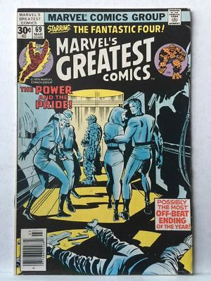 Marvel's Greatest Comics # 69 VF- Fantastic Four # 87 Free Postage