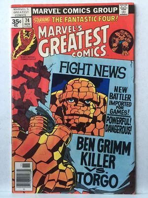 Marvel's Greatest Comics # 74 VF- Fantastic Four # 92 Free Postage