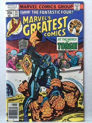 Marvel's Greatest Comics # 75 VF/NM Fantastic Four # 93 Free Postage