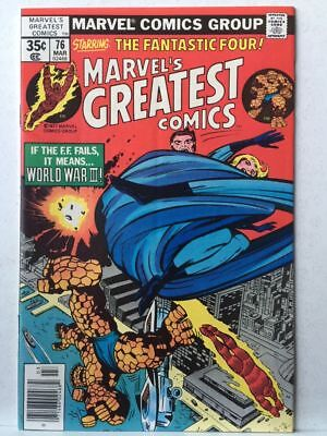 Marvel's Greatest Comics # 76 FN/VF Fantastic Four # 95 Free Postage