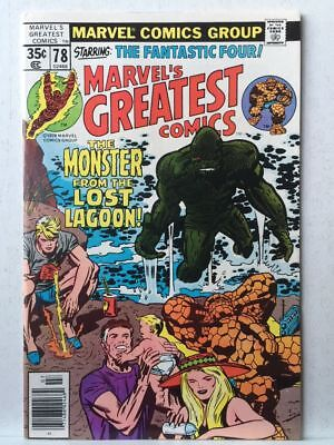 Marvel's Greatest Comics # 78 VF/NM Fantastic Four # 97 Free Postage