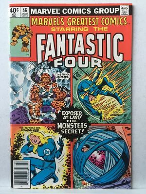 Marvel's Greatest Comics # 86 VF/NM Fantastic Four # 106 Free Postage