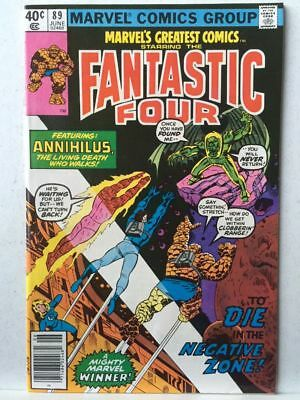Marvel's Greatest Comics # 89 VF/NM Fantastic Four # 109 Free Postage