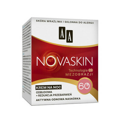 AA Novaskin  Night Cream 60+  50ml  Krem Na Noc