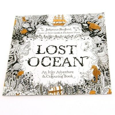 Lost Ocean Drawing Coloring Book Graffiti Books Adult Painting