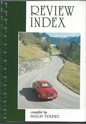 Bentley Drivers Club BDC Review Index 1991 Issues 1-180