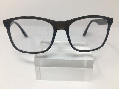 Ray Ban RB 4232 6195/8G 57/17 3N Grey Made In Italy Authentic  Eyeglasses 2865