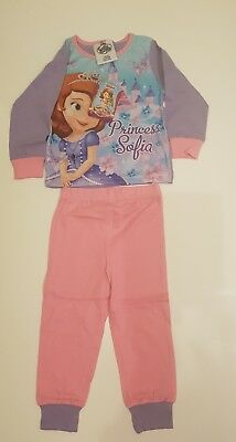 Girls Disney Princess Pyjamas Princess SOFIA nightwear Kids 100% Cotton nighties