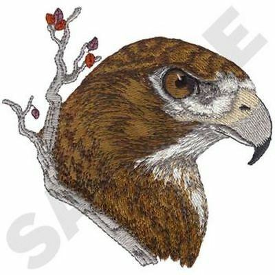 """Red-Tailed Hawk, Embroidered Patch 5.2"""" x 5"""""""