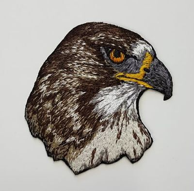 """Red-Tailed Hawk Embroidered Patch 2.5"""" x  2.5"""""""
