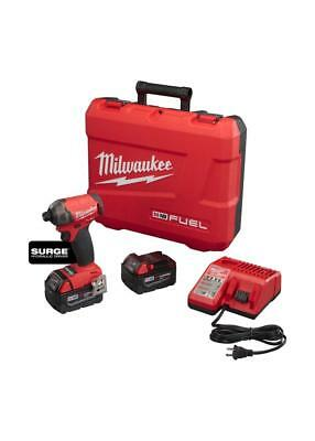 MILWAUKEE-2760-22 M18™ FUEL™ SURGE™ 1/4 In. Hex Hydraulic Driver Kit