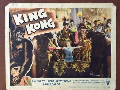 King Kong Original Lobby Card 1956 Re-Release Lobby Card #6