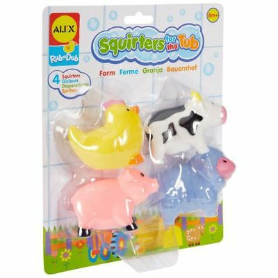 ALEX Toys Rub a Dub Squirters for the Tub - Farm 6m+ Bay Toy