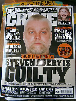 Real Crime Magazine Issue 10 (new) 2016