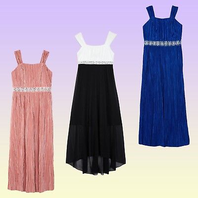 NWT New Amy's Closet Big Girls' Formal Special Occasion Maxi or Hi-Low Dresses
