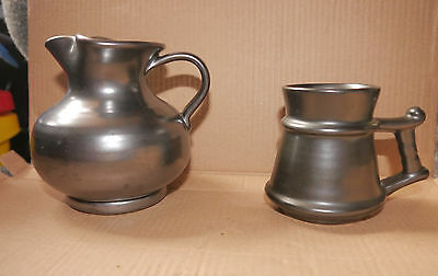 Prinknash jug and tankard