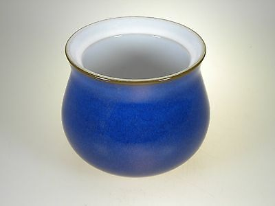 Denby Imperial Blue Sugar NO LID New With Tag Made in England
