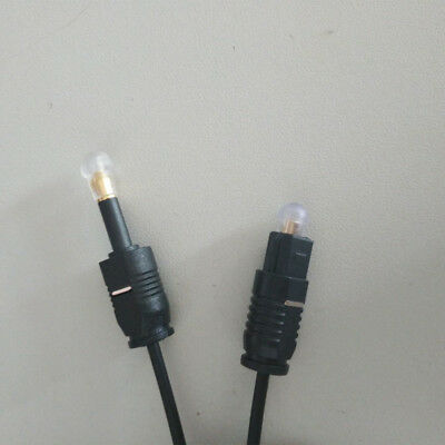 1M 3Ft Digital Optical  Toslink Male to Mini Plug 3.5mm Male SPDIF Audio Cable