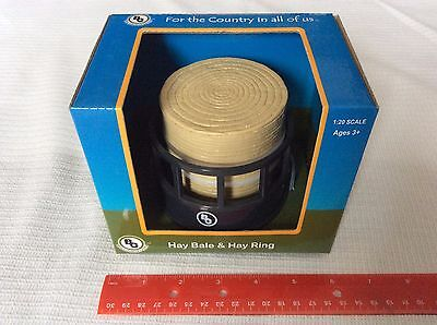 Big Country Farm Toys Accessory 410  Hay Bale & Hay Ring 1:20 Scale Age 3+ NEW