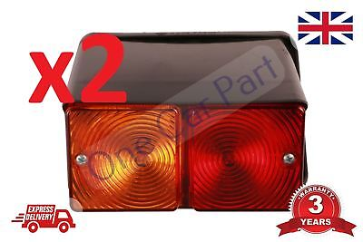 PAIR Ford Tractor Rear Light RH LH 3600 4100 4110 4600 5610 6610 7610 Nw Holland