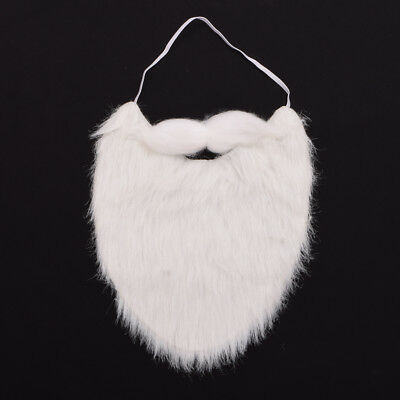 1pc Christmas Party Costume Props Cosplay Dress Up Santa Claus Beard Mustache