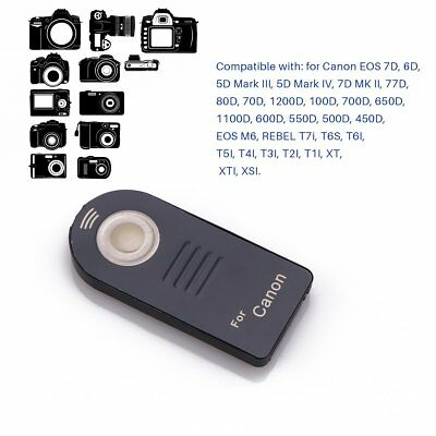 IR Wireless Shutter Release Remote Control for Canon EOS 77D, 80D, 70D, 1200 HOT