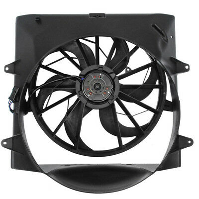04 Grand Cherokee 4 0l Non Tow Radiator Ac Condenser Cooling Fan