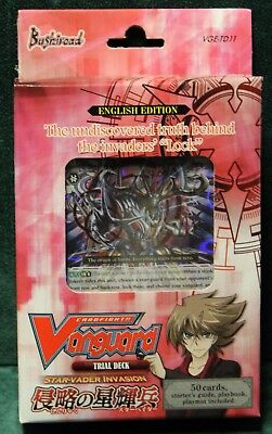 Cardfight Vanguard Star-Vader Invasion Trial Deck Factory Sealed X1