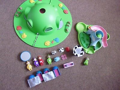 teletubbies house on the hill carry play set with figures