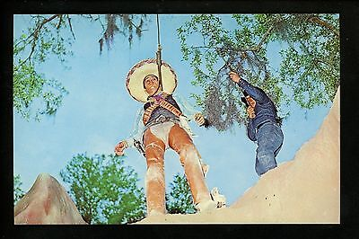 Amusement Park postcard Six Gun Territory, Silver Springs Ocala FL Boot Hill