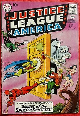 Justice League of America 2 DC Silver Age 1960