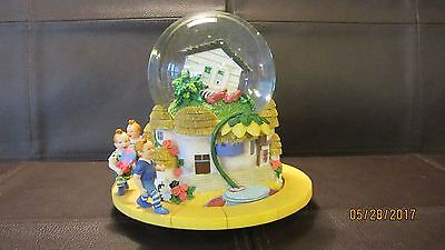 San Francisco Music Box Company Muscial Wizard of Oz House on Wicked Witch