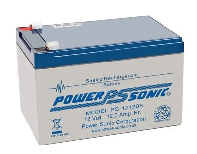 Brand New Genuine PowerSonic 12Ah 12v Kymco Mobility Battery PS-12120 PS12120