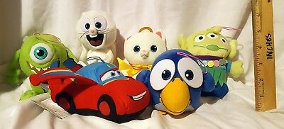 New Disney / Pixar Short Film Plush Set Of 6! Japan! Us Seller! Free Ship!