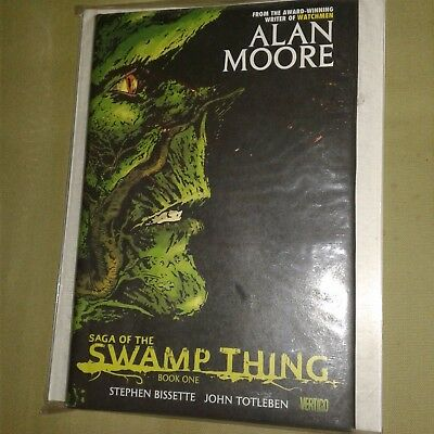 Watchmen creator Alan Moore early book Swamp Thing Book 1 Hardcover