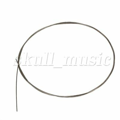 Silver Tone 3.28ft Piano Music Wire 14# Musical Instruments Accessories
