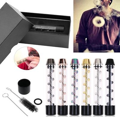 usa Designed Smoking Obsolete For 7 Pipe Glass Twisty Blunt With Brush Kit Set