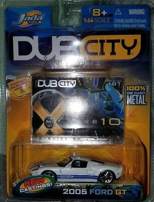 Jada Toys Dub City  Ford Gt Collection  Edition
