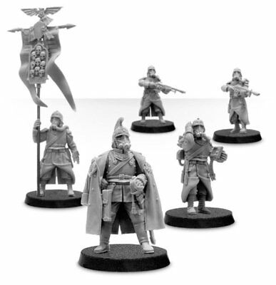 Warhammer 40K Death Korps of Krieg HQ Command Squad New Unboxed