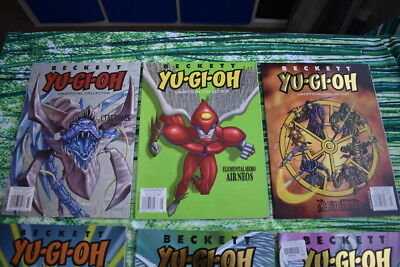 Beckett Yu-Gi-Oh Collector Issue 8 Issues 2007 - 2008
