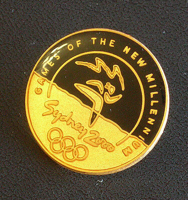 Collectable Sydney 2000 Olympic Games of The New Millenium Badge Aminco Like New