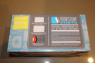 NEW! YourStory Photo Personal Book Binding Kit