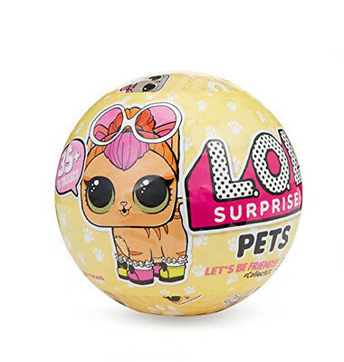 Series 3 Lol Surprise Doll Pets 5 Surprises Of Fun Animal Balls Xmas Gifts