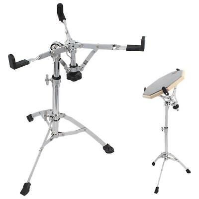 New Chrome Plated Dumb Snare Drum Stand Tripod