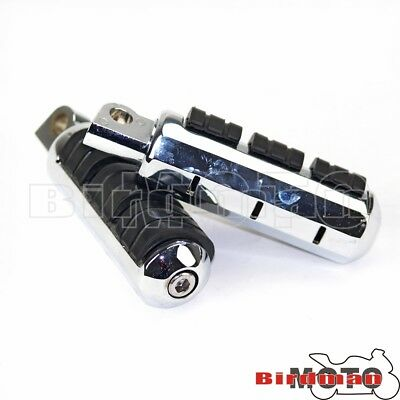 Driver Passenger Highway Foot Pegs Footrests For Harley Softail FLST FXST 82-99