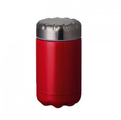 Avanti Fluid Insulated Stainless Steel Food Flask 500ml Red Picnic BPA Free New