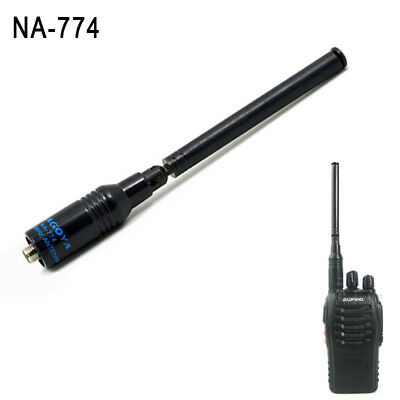 NA-774 SMA-Female Dual Wide Band Antenna For Baofeng UV82 UV6 GT-3 A52 GT-3TP